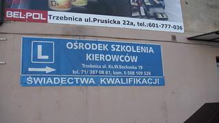 Szkoła nauki jazdy w Trzebnicy