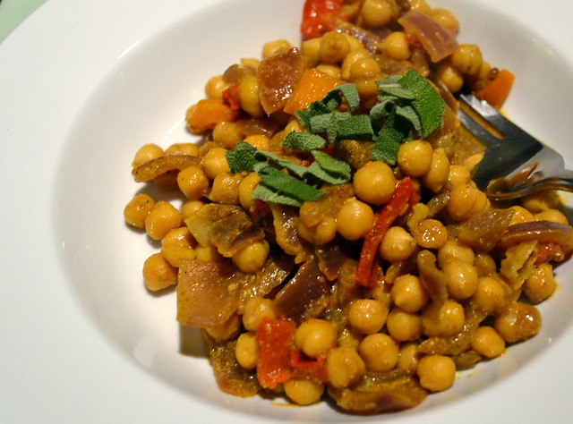 Chick pea curry 7