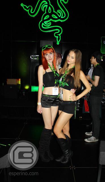 EB Expo 2012 Razer Booth Babes