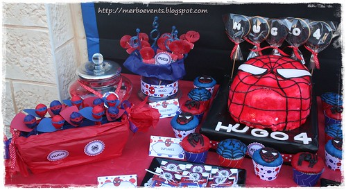 Candy bar 4 Kit de fiesta spiderman. Merbo events