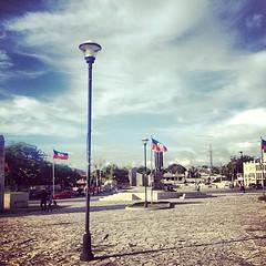 Near the old palace #haiti #thisishaiti #portauprince #landmarks
