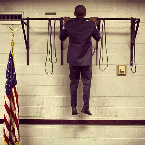 Presidential chin-up