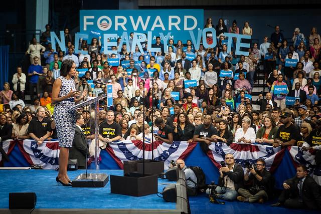 Michelle at UNC-2