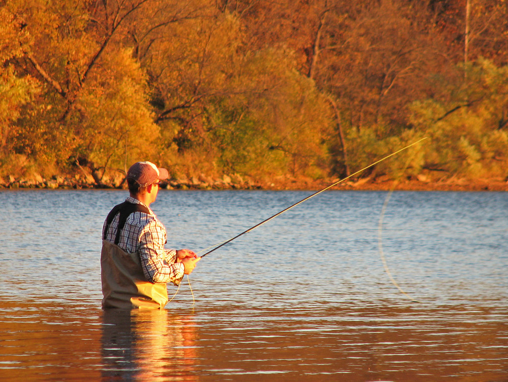 Fly Fishing on Lake Harriet