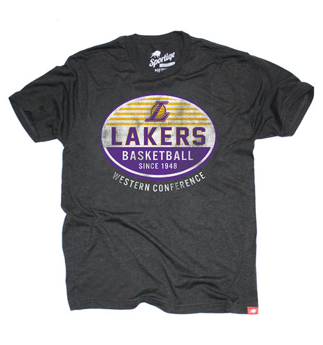 Lakers Comfy T Shirt By Sportiqe Apparel
