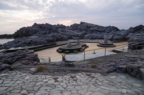 神津島温泉保養センター 露天風呂