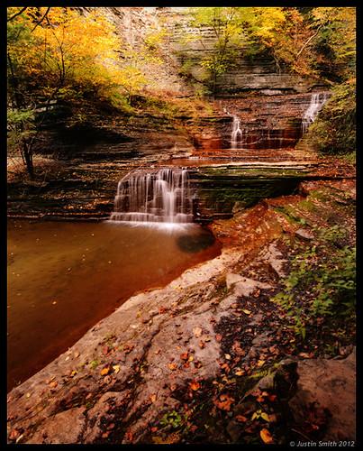 autumn ny newyork waterfall ithaca fingerlakes justinsmith buttermilkfallsstatepark nikond800 justinsmithphotocom nikon1725mmf28