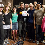 Live in Studio-A 10.19.12 Photo by Claire Lorenzo