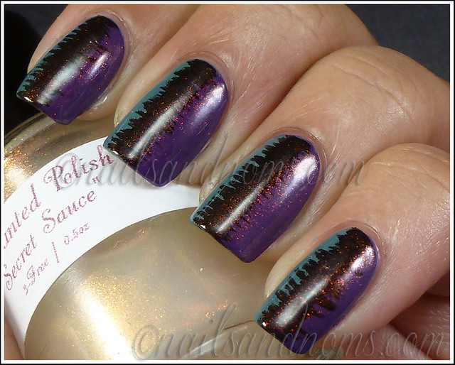 31DC2012 Day 6 Violet Nails - 1