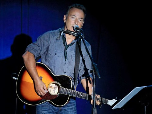 Bruce Springsteen suport Obama