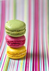 [Free Images] Objects, Foods, Confectionery, Macaron ID:201210240400