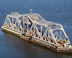 Spuyten Duyvil Bridge over the Harlem River, Manhattan-Bronx, New York City