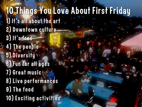 10 Things We Love About First Friday in Las Vegas #FirstFridayLV! #FFLV @FirstFridayLV