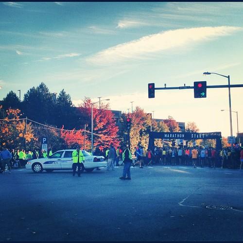 Lowell Marathon 2012