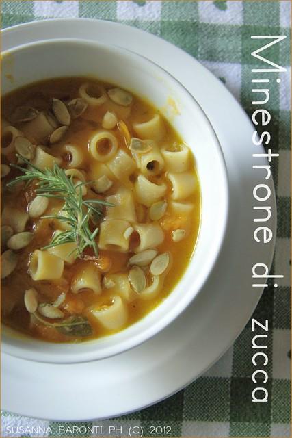 minestrone di zucca
