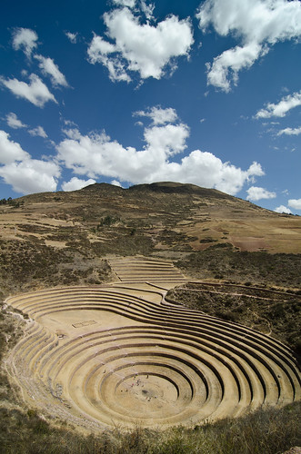 perù moray terrazzamenti