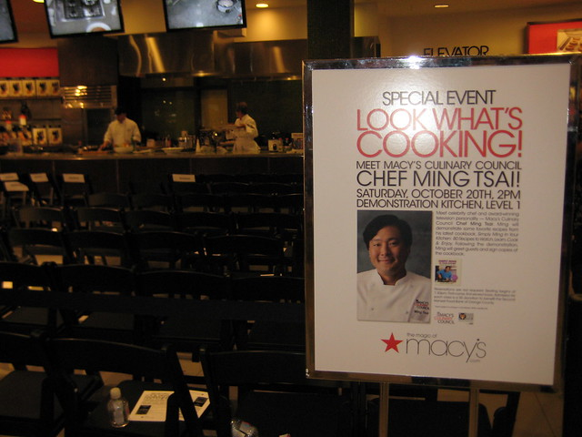 Chef Ming Tsai Demo at Macy's South Coast Plaza