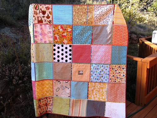 quilty love quilt back