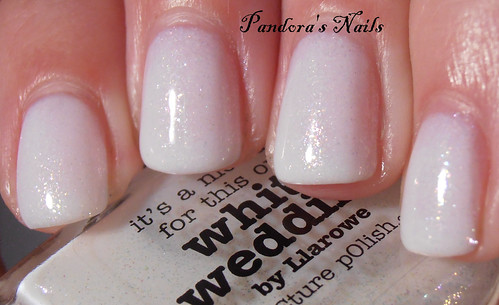 Picture Polish White Wedding by Llarowe 3