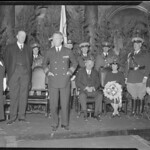 Comm. Byrd visits Gov. Curley and Mayor Mansfield at the State House