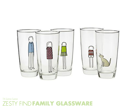 {zesty find} family glassware