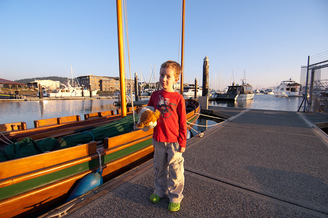 Anthony at Bellingham Bay