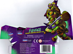 Nickelodeon  TEENAGE MUTANT NINJA TURTLES :: FISHFACE ..card insert  (( 2012 ))