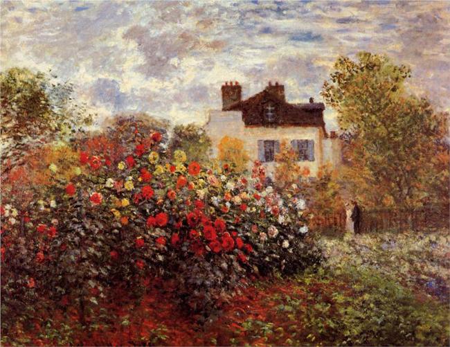 monet-s-garden-in-argenteuil-sun
