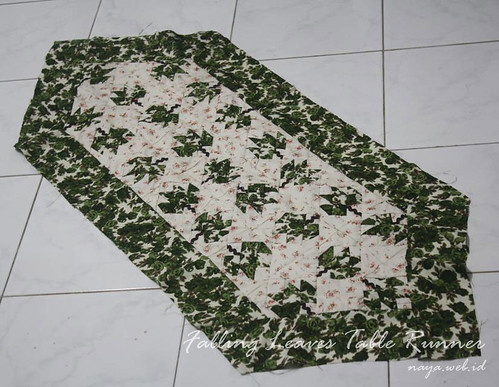 Falling Leaves Table Runner