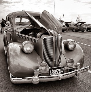 Old Dodge B&W
