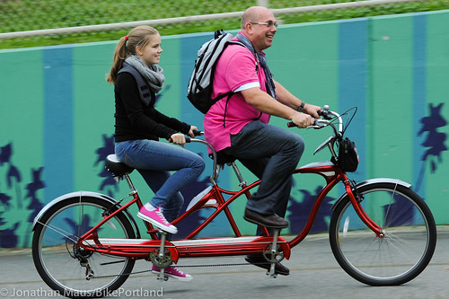 People on Bikes - Manhattan Bridge-11