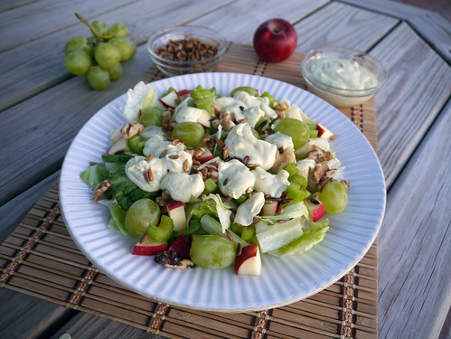 'Jalapeno Face' Spicy Waldorf Salad for Iron Chef (0026)
