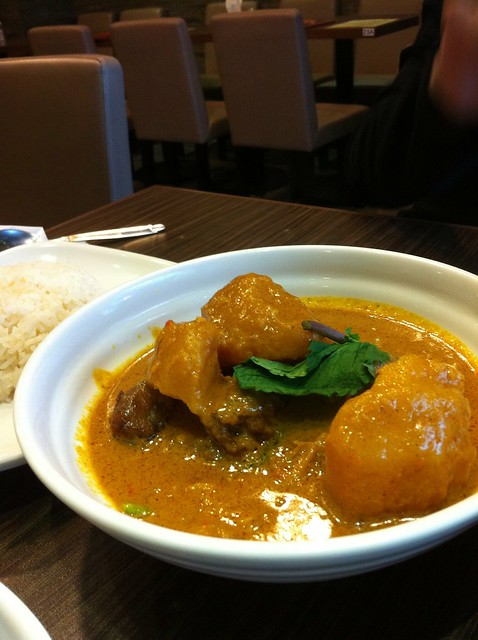 Malaysia Curry Chicken