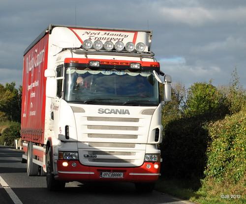 Noel Hanley Transport Scania R310 07-C-26000