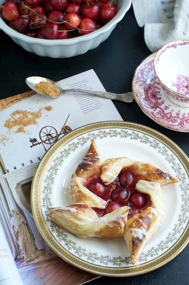 cherry pastry again