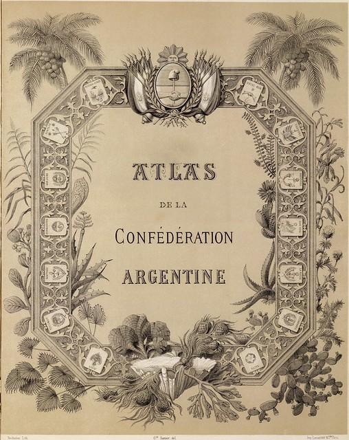 Description geographique et statistique de la Confederation Argentine  1873