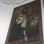 Flamsteed House - Royal Observatory Greenwich - Octagon Room  - portrait of Charles II