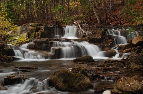 manchester waterfall vermont center falls waterfalls vt benningtoncounty vermontdreams munsonbrookfalls munsonbrook