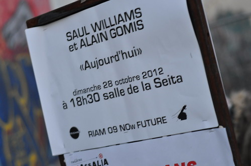 Saul Williams & Alain Gomis by Pirlouiiiit 28102012