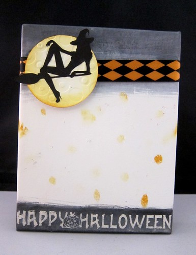 Halloween card box
