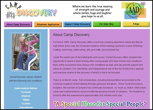 Dr. Joel Schlessinger and family donate to AAD Camp Discovery