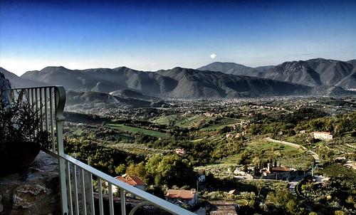italy mountains valley picinisco