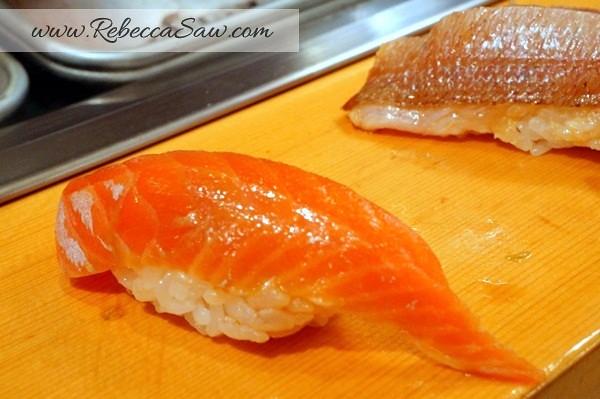 Tsukiji market - sushi dai - best sushi-062