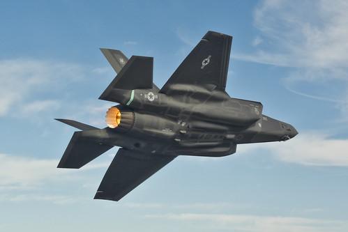 F-35A in Flight