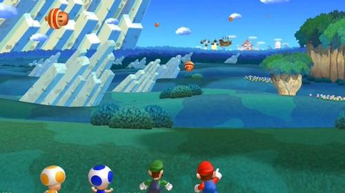 Nintendo Discusses Modes in Super Mario Bros. U