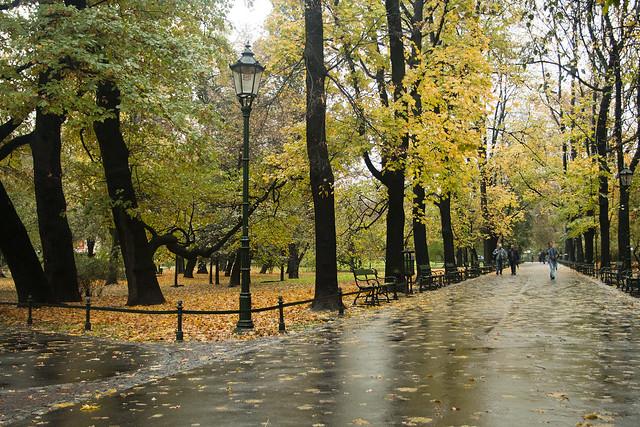 Planty krakowskie - Jesień