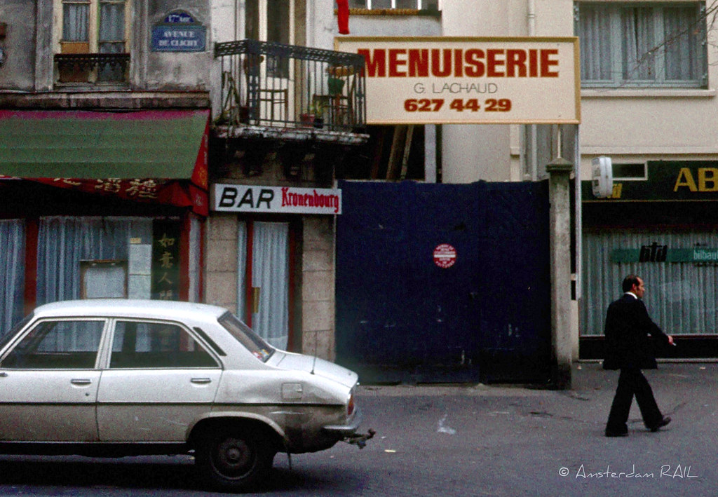 Paris, Avenue de Clichy (1981)