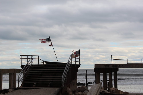 92nd street boardwalk flag