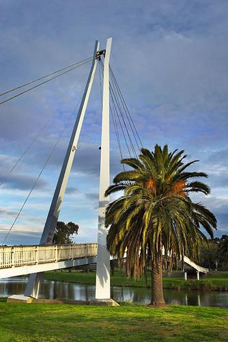 Afton Street Footbridge, Maribyrnong River, Essendon, Victoria, Australia IMG_2421_Maribyrnong_River