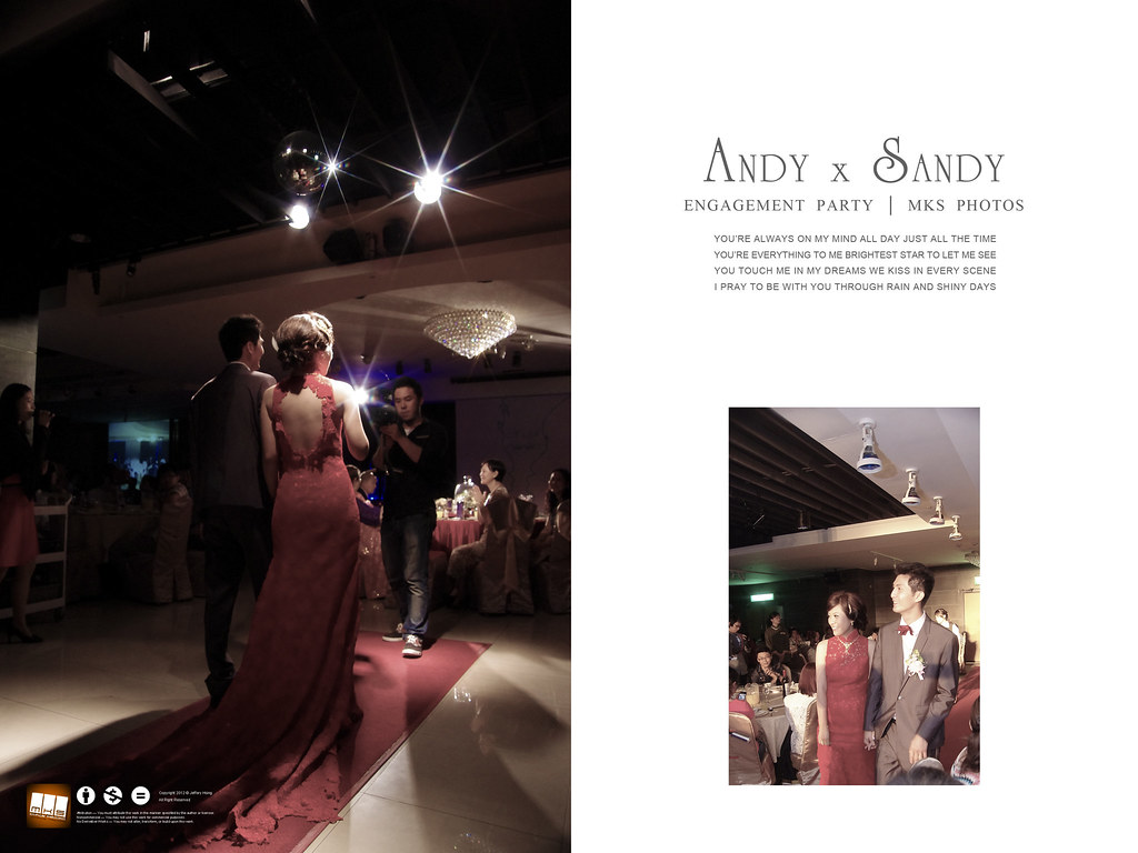 [婚禮記錄]Andy & Sandy Engagement Party[23P]